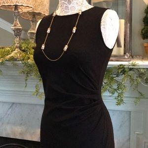 Kenneth Cole black bodycon dress size 4 NWT